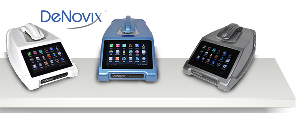 Denovix DS-11 microvolume UV/Vis spectrophotometers